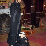 Historic General Dodge House Mourning Exhibit March - November Typical clothing of women and children in mourning