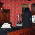 Historic General Dodge House Mourning Exhibit March - November Typical clothing of men in mourning clothing